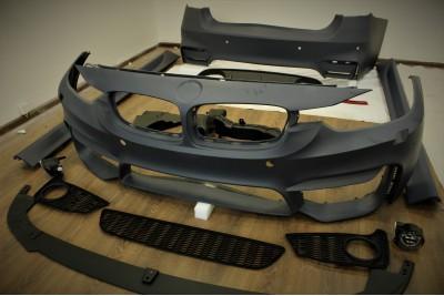 Обвес M3 look 3 серия F30 со сплиттером