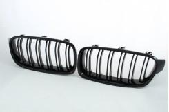 Решетка радиатора для 3 серии F30 M look черная