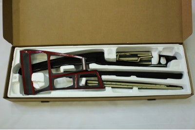 Накладки салонных планок 5 серия F10 карбон