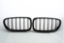 Решетка радиатора для 5 серии F10 M look черная