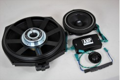 F10. Первая установка акустики AMP.