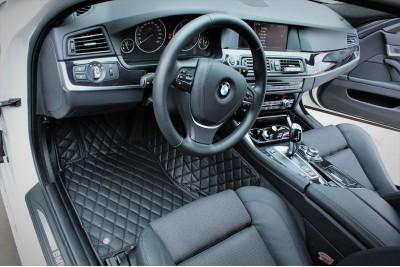 3D салонные коврики для BMW 5 серии F10